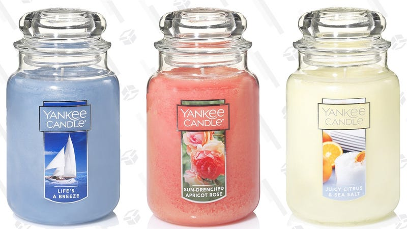 2-For-$30 or 5-for-$55 Large Jar Candles | Yankee Candle | Extra savings with code JUNE15