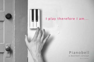 Illustration for article titled Piano Doorbell Turns the FedEx Guy Into a Virtuoso