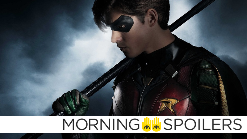 Brenton Thwaites suits up as Dick Grayson in Titans.