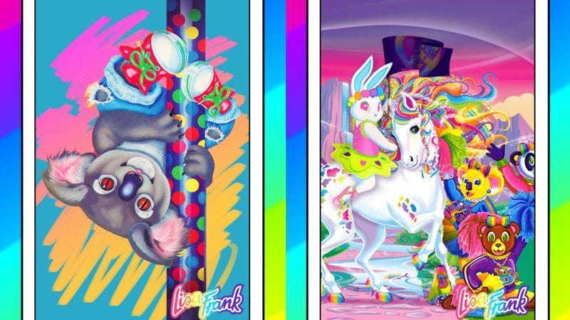 Illustration for article titled Enjoy these colorful tarot cards in the style of Lisa Frank