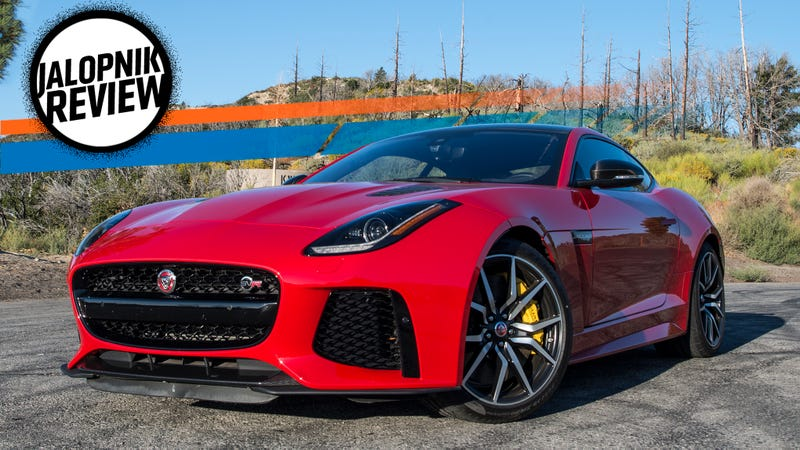 the 2017 jaguar f-type svr is a mean masterpiece