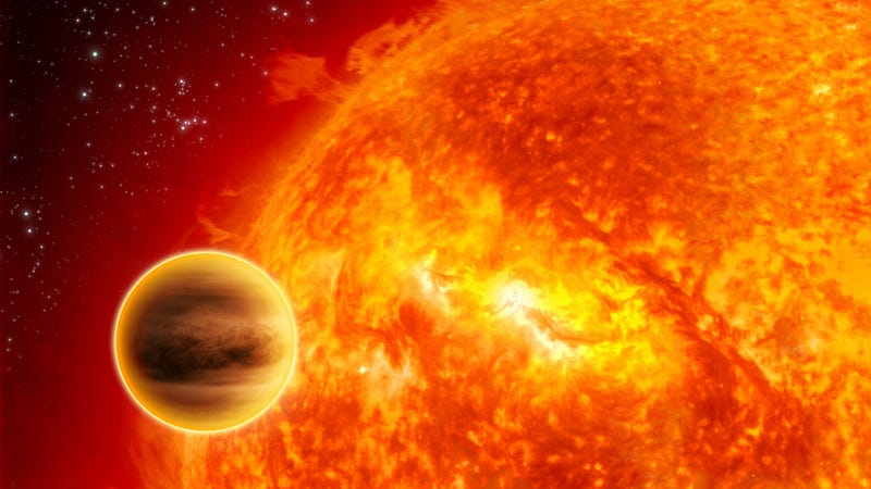 Illustration for article titled Astronomers Map the Extreme Weather of a Distant Hot Jupiter