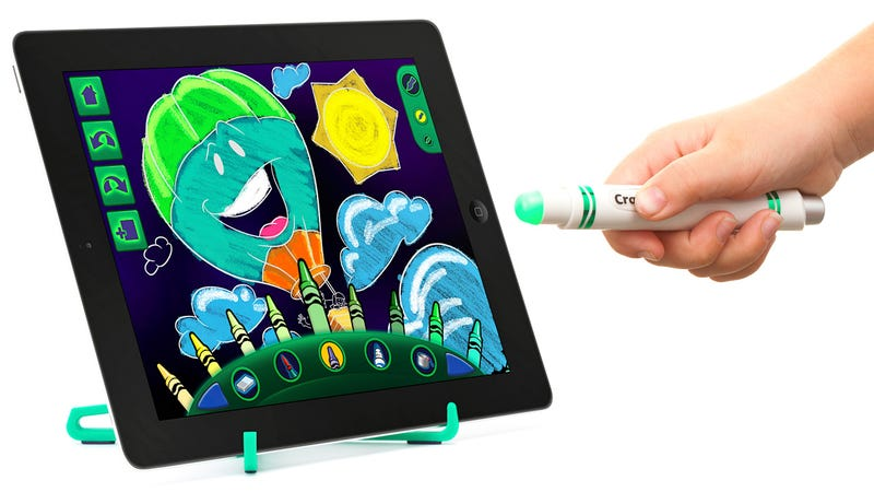 Illustration for article titled Griffin's Glowing iPad Stylus Lets Kids Draw Without Banging Up the Screen
