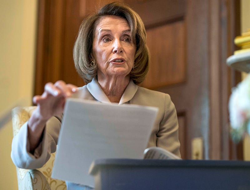 Illustration for article titled Nancy Pelosi Signals Support For Environmental Causes By Placing Green New Deal Directly Into Recycling Bin