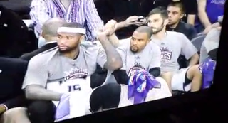 Illustration for article titled Don't Worry, DeMarcus Cousins, Omri Casspi Has Your Back