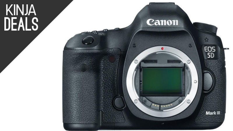 Illustration for article titled Save $500 on Canon's Iconic 5D Mark III DSLR