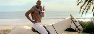 """Illustration for article titled How they made the classic Old Spice """"I'm on a horse"""" commercial"""