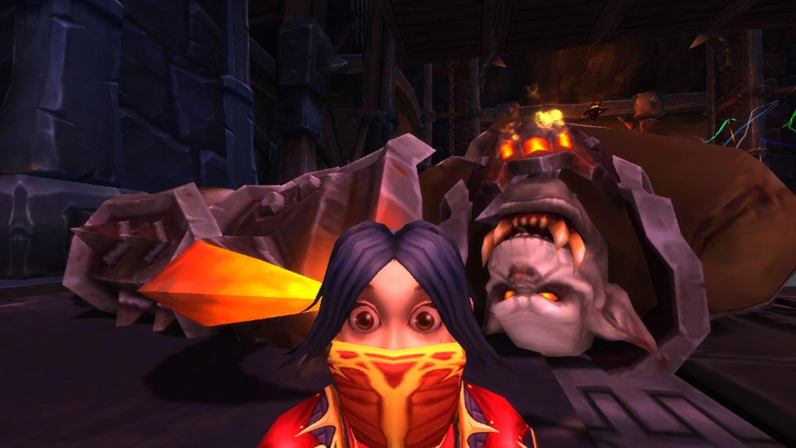 Fifteen Great World of Warcraft Selfies