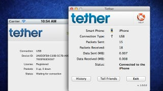Illustration for article titled iTether Is a Cross-Platform Wired Tethering Option for iOS, No Jailbreak Required
