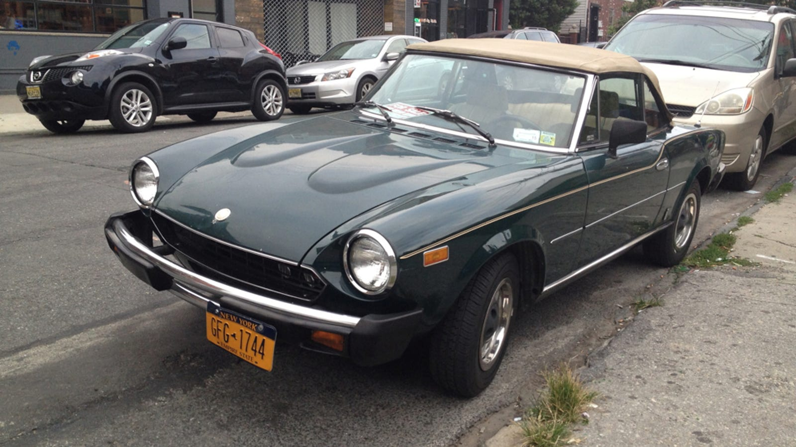 This Fiat Spider Might Be Worth The Cost Of Ownership 1971 124 Sport