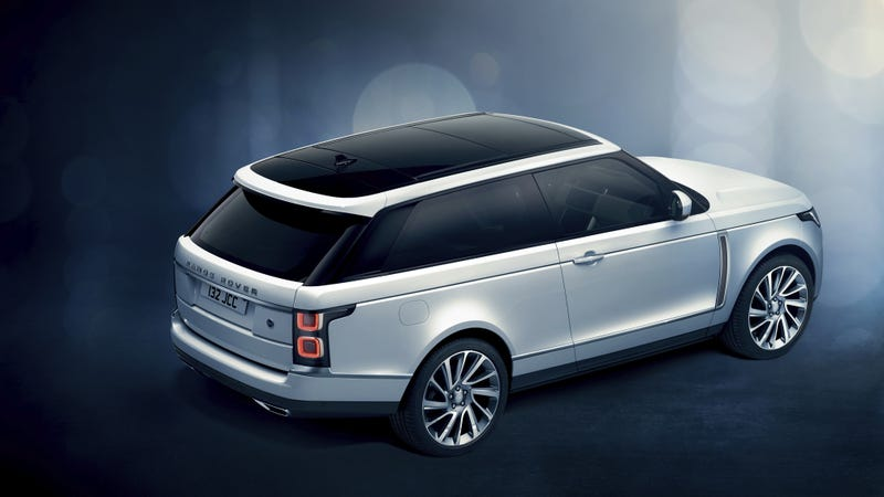 Illustration for article titled Range Rover Cut Its Coupe