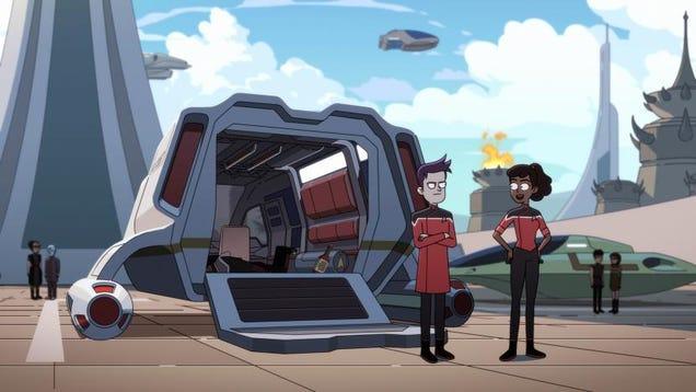 On Star Trek: Lower Decks, Everyone s Just a Bunch of Adorable Nerds