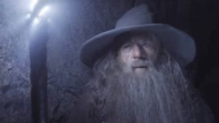 Illustration for article titled Gandalf and Radagast inspect an ancient tomb in the first clip from The Desolation of Smaug