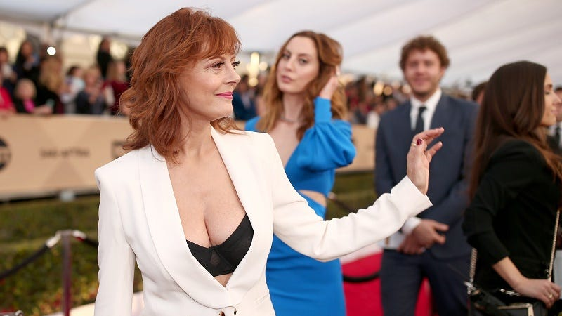 Illustration for article titled Susan Sarandon's Cleavage Is Having a Moment