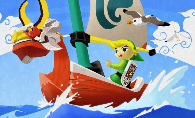 Illustration for article titled The Legend of Zelda: The Wind Waker HD Review