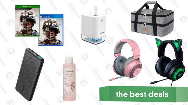 Sunday s Best Deals: Call of Duty: Black Ops Cold War, Razer Kraken Headsets, Anker Power Bank, Hand Sanitizer, Casserole Dish Holder, K-Beauty Brand Mamonde Products, and More