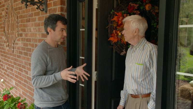 Nathan Fielder and Bill Heath (Photo: Comedy Central)
