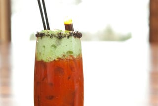 Illustration for article titled Too Much Aprés Ski? Sweat Out the Booze with a Sriracha Bloody Mary