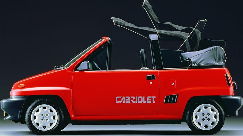 The Honda City Cabrio, as spotted by Retro Car Bot