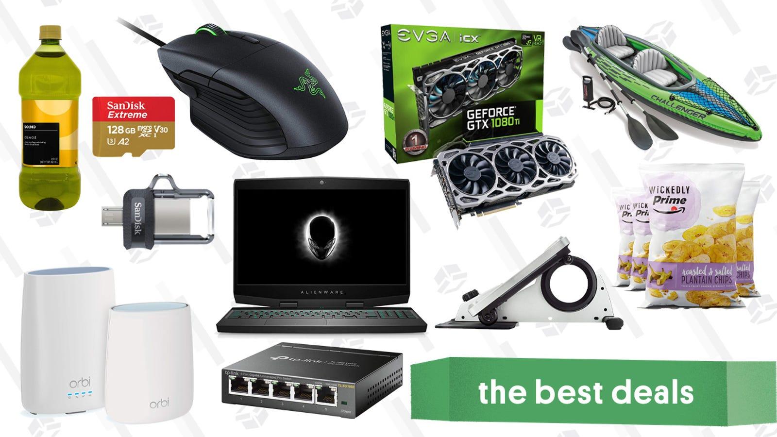 QnA VBage Monday's Best Deals: Laptop Gold Box, Smart Locks, Under-the-Desk Elliptical, and More
