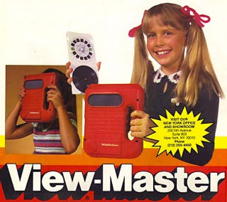 Illustration for article titled The Electronic Talking View-Master Was the Original Oculus Rift