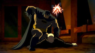 Illustration for article titled Watch the first trailer for the animated adaptation of The Dark Knight Returns