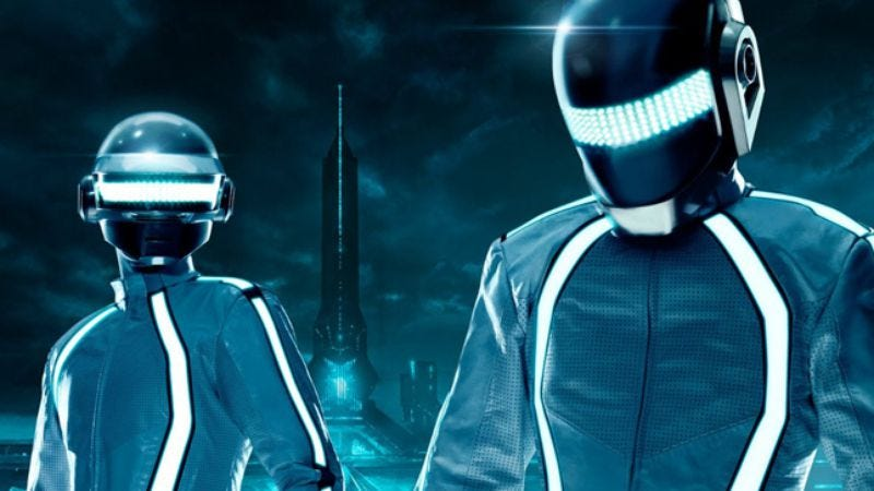 Illustration for article titled Daft Punk: Tron: Legacy