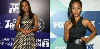 Kerry Washington (Christopher Polk/Getty Images for Variety); Nicole Beharie (Paul A. Hebert/Getty Images)