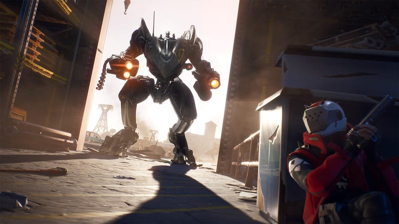Illustration for article titled Mechs Are The Latest Shiny Toy Shaking Up Fortnite's Players