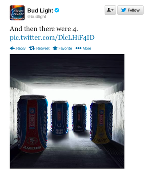 Illustration for article titled Budweiser Sends Really Dumb Tweet In Branding Exercise Gone Wrong