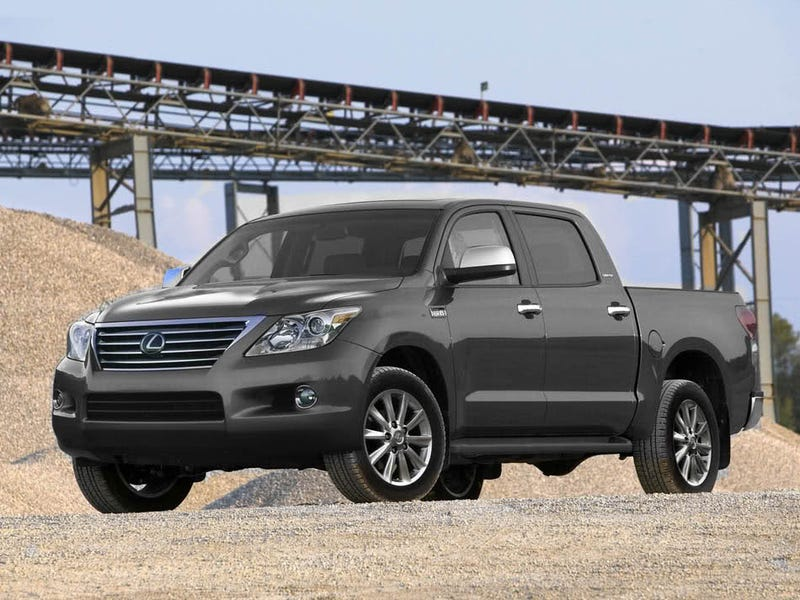 "Illustration for article titled If Toyota Builds a Bigger Tundra, Then It Should Be Named ""Texas"""