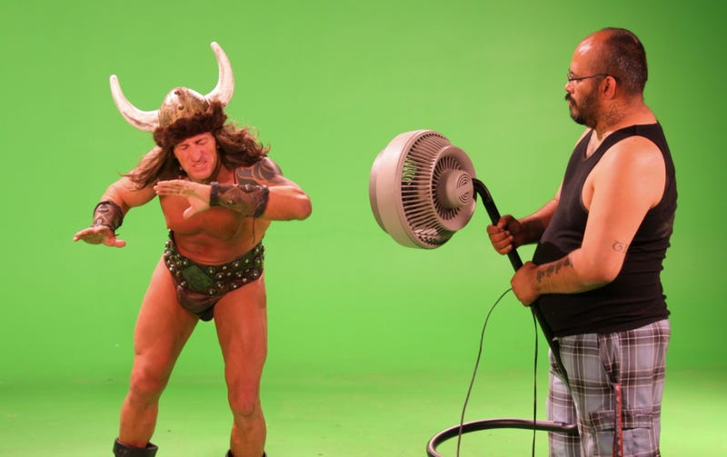 Illustration for article titled This is what making a Conan the Barbarian adult film looks like