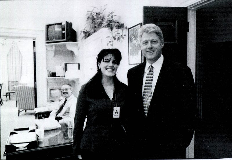 Did president clinton really get a blow job