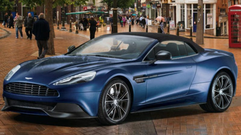 Illustration for article titled The Neiman Marcus Aston Martin Vanquish Volante Is Just $344,500