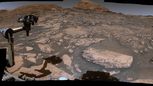 Go on a Panoramic Video Tour of Mars With the Curiosity Rover