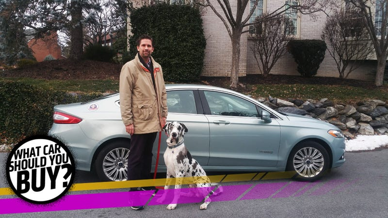 Mark Is A Big Guy Who Now Has A Really Big Dog. He Needs Something More  Comfortable Than His Ford Fusion Hybrid But Wants To Get Decent Fuel  Economy Because ...