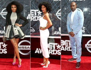 Brandy; Tracee Ellis Ross; Morris Chestnut. All images: Frederick M. Brown/Getty Images