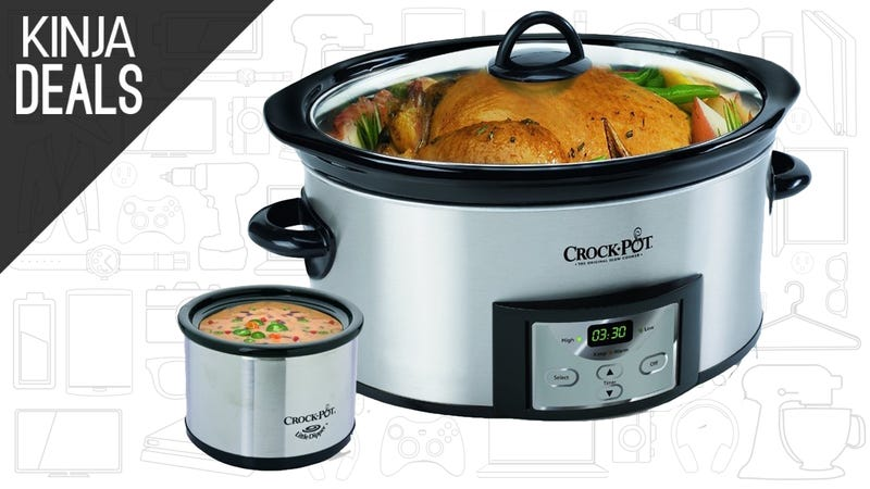 Illustration for article titled Come For The Programmable Crock-Pot, Stay For Its Adorable Little Brother