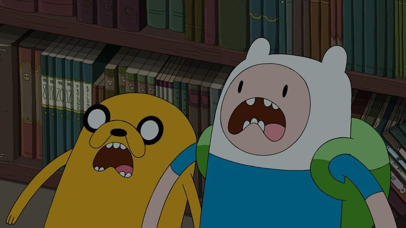 Illustration for article titled Adventure Time explores horror conventions in a sharp episode
