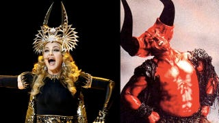 Illustration for article titled The Secret Satanic Conspiracy Behind Madonna's Halftime Show