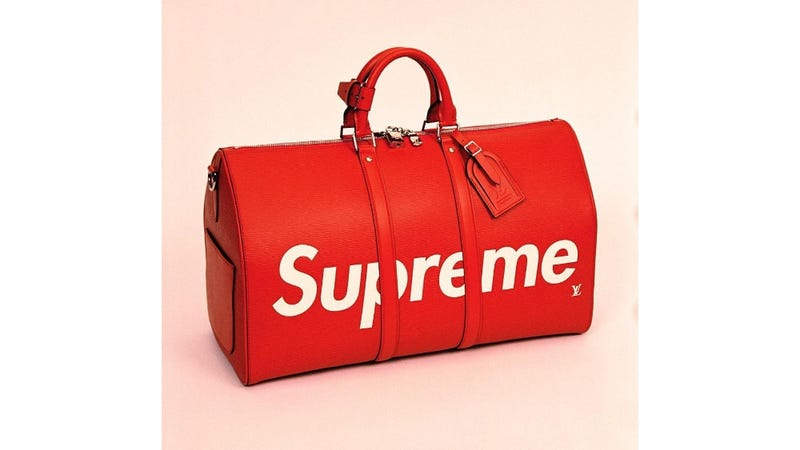 Illustration for article titled Every Rich Asshole Will Soon Have One of These Louis Vuitton Supreme Bags