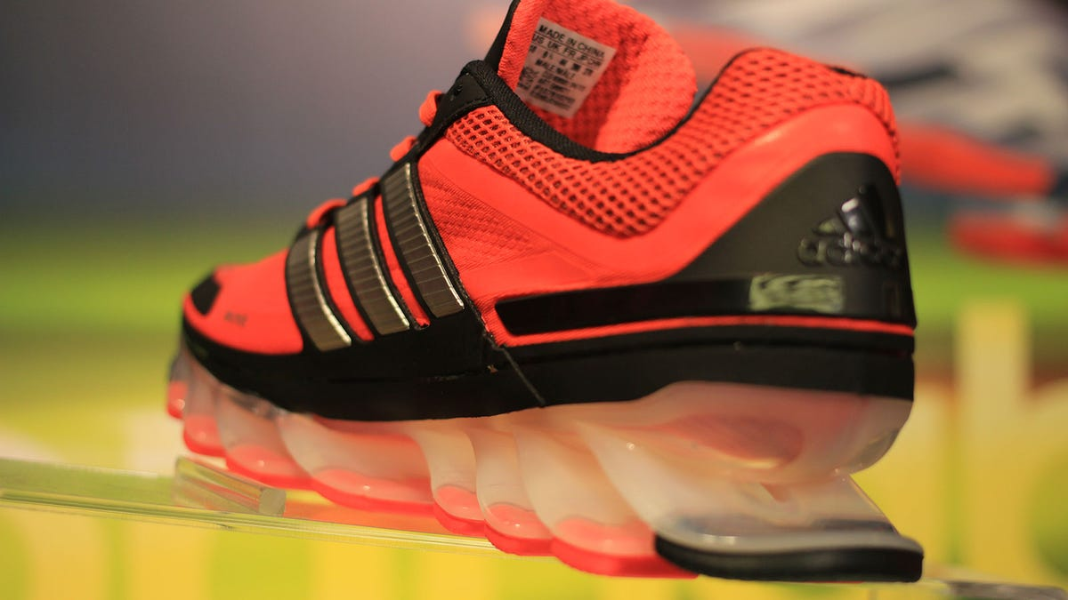 Adidas Springblade: Shoes With Actual Springs Might Be A
