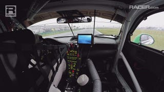 Illustration for article titled RACER Video: Leh Keen WeatherTech Porsche 911 GT3 R in car Rolex 24