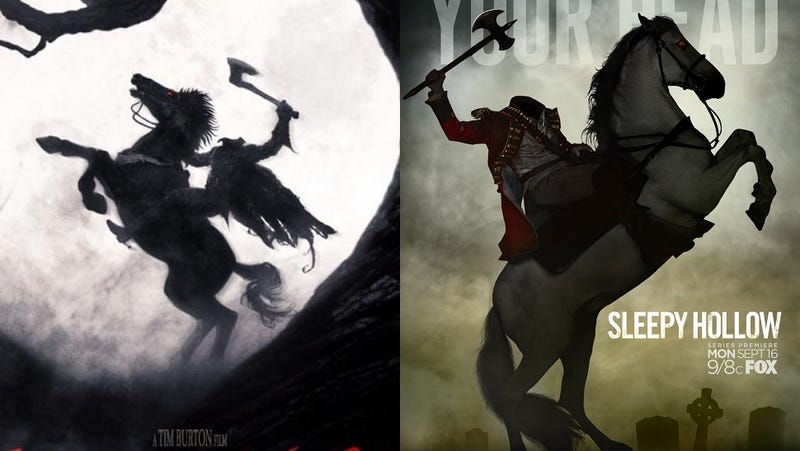 Illustration for article titled How will the Sleepy Hollow show be different than Tim Burton's movie?