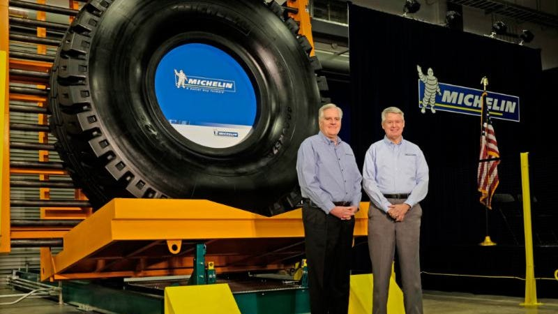 Illustration for article titled Michelin Opens New South Carolina Manufacturing Plant