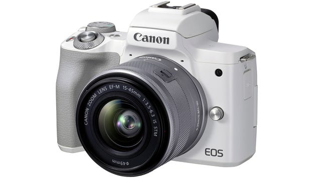 Canon s New EOS M50 Mark II Is a Mirrorless Cam for YouTubers