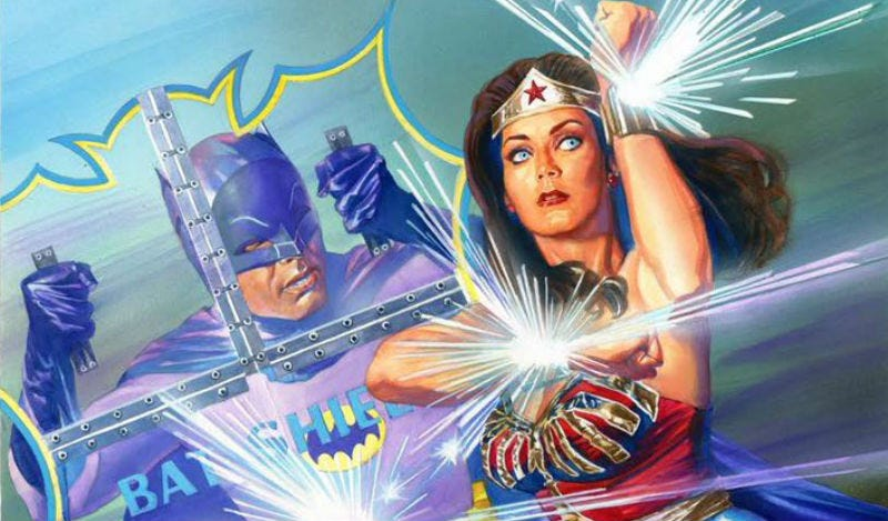 Illustration for article titled Batman '66 Is Teaming Up With Wonder Woman For the First Time Ever