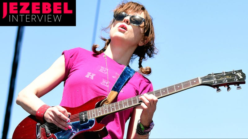 Mary Timony playing Coachella 2016 with Ex Hex. Image via Getty.