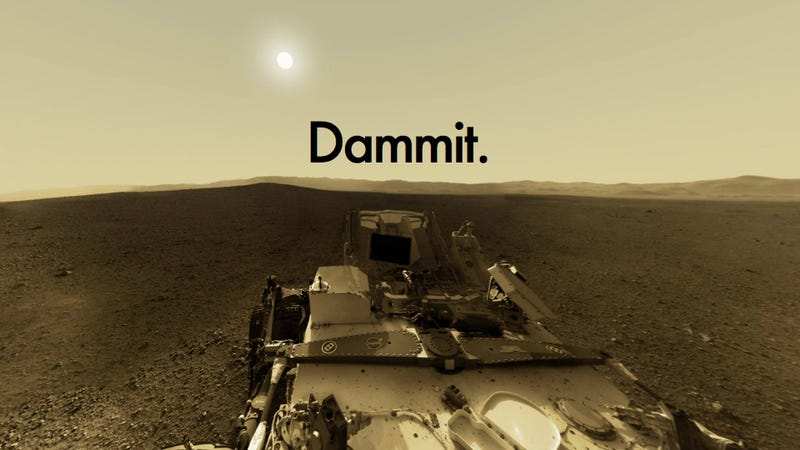 Illustration for article titled Curiosity Rover has been sidelined again