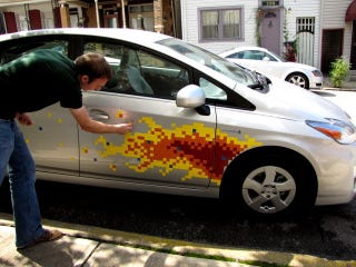 Illustration for article titled How To Add 8-Bit Flames To Your Toyota Prius
